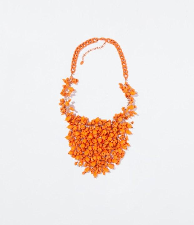Zara Ethnic Orange necklace
